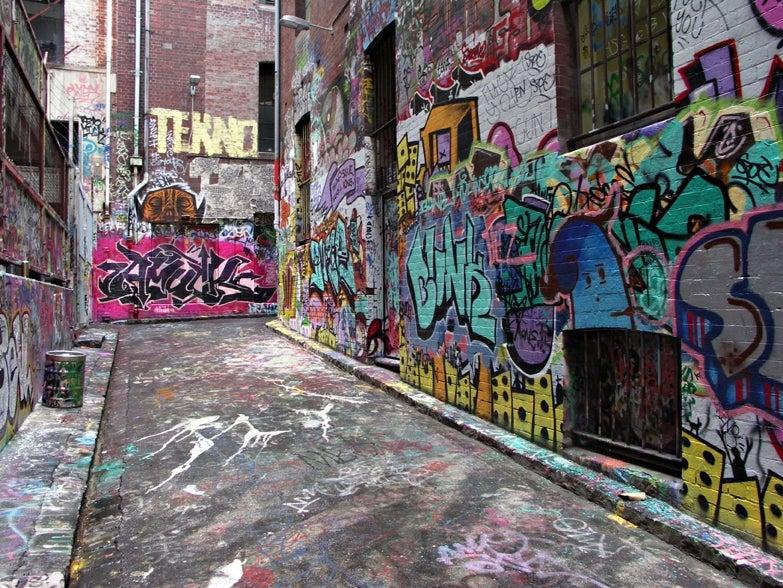 edifici dismessi: graffitismo
