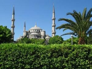 Una vista di Istanbul