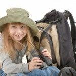 Una bambina in viaggio