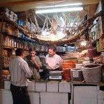 Il mercato di Aleppo