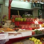 La frutta del Carmel Market di Tel Aviv