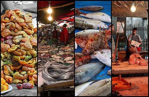 Il mercato Ballarò di Palermo