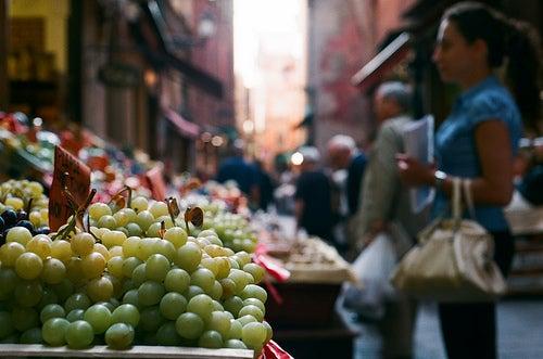 Il mercato di mezzo di Bologna