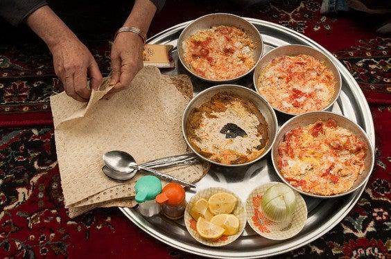 Colazione in Iran
