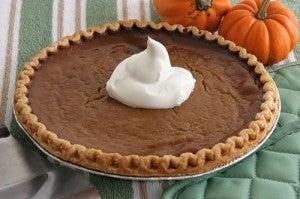La Pumpkin Pie del Giorno del Ringraziamento