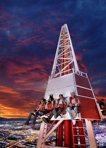 Stratosphere il parco dei divertimenti pi alto di las for Piani domestici di 2000 piedi quadrati