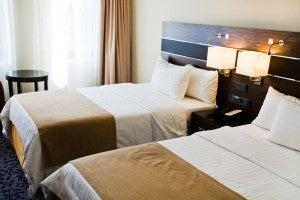 Tester di letti di hotel