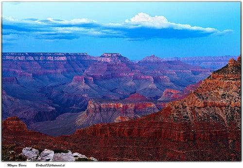 Panorama sul Grand Canyon