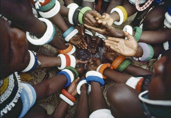 Tribu Ndebele Sud Africa