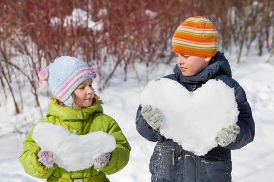 Amore sulla neve