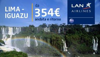 rotta LAN Lima - Iguazu