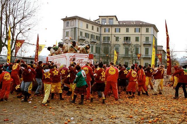 Battaglia delle Arance Carnevale di Ivrea