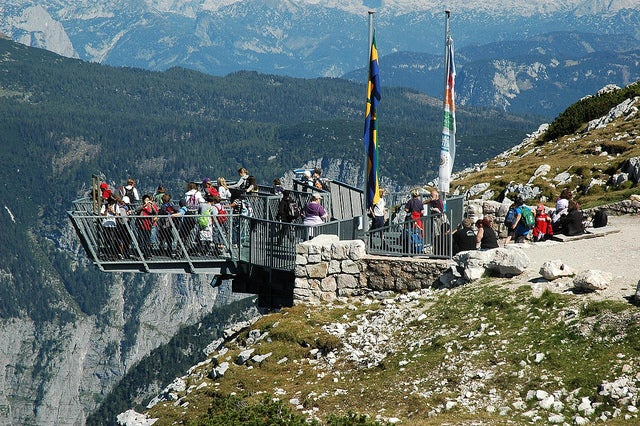 Miradouro panorâmico Dachstein