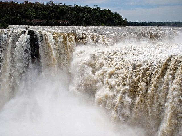 Gorge du Diable, chutes d'Iguaçu