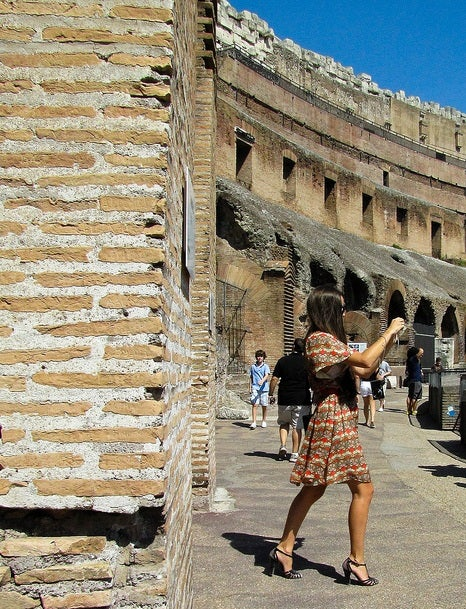 turista italiana