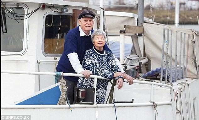 Bill e Laurel Cooper fine del viaggio