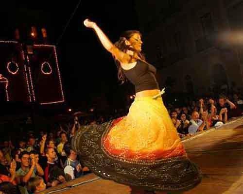 Carpino folk festival, Gargano