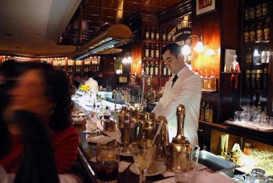 London gin bar