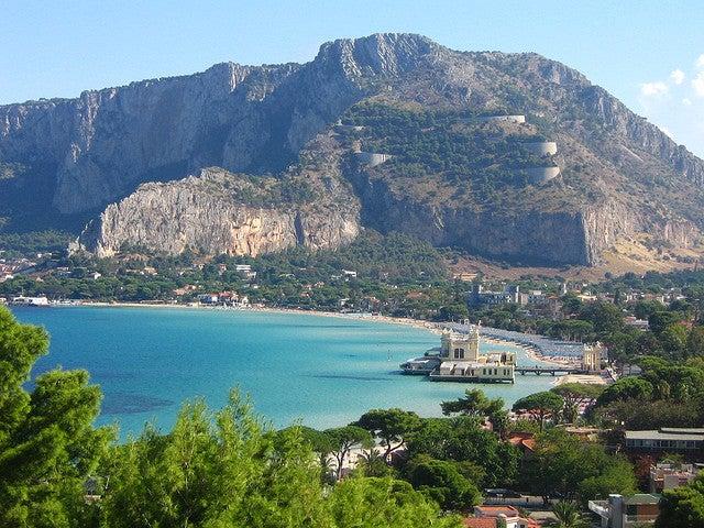 Palermo spiaggia Mondello