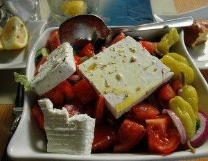 cucina vegetariana Grecia