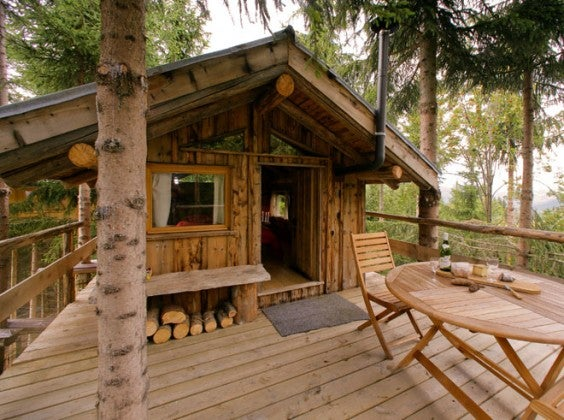 tree houses les ecotagnes francia