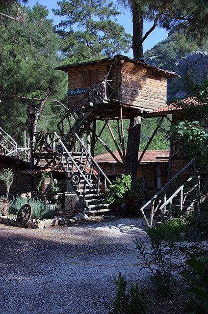 tree houses olympos