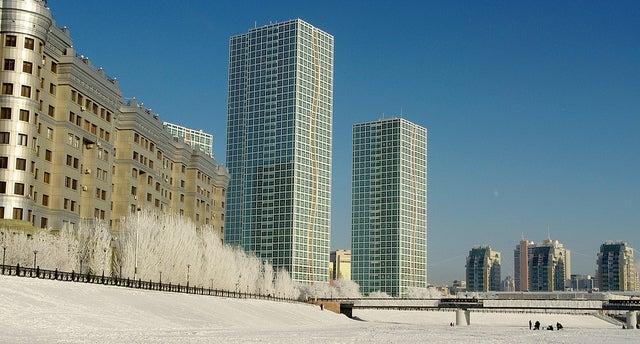 Astana città più fredde