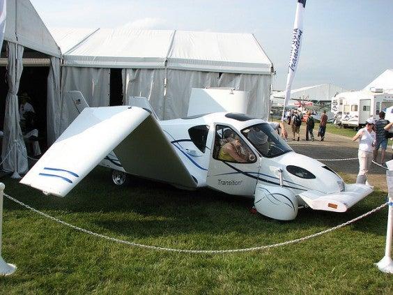 Transition macchina volante