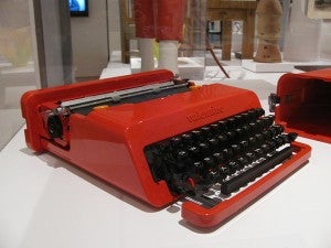 macchina da scrivere Olivetti di Ettore Sottsass, 1969