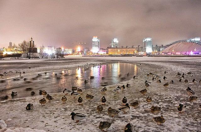 Minsk città più fredde