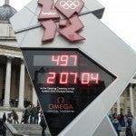 Olimpiadi Londra 2012 orologio