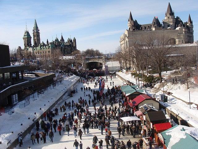 Ottawa città più fredde