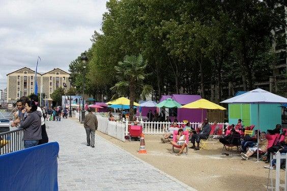 Paris plage spiagge metropolitane