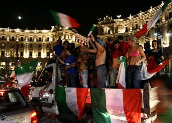 Migliore tifoseria Europei