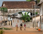 Città storica di Grand-Bassam (Costa d'Avorio)