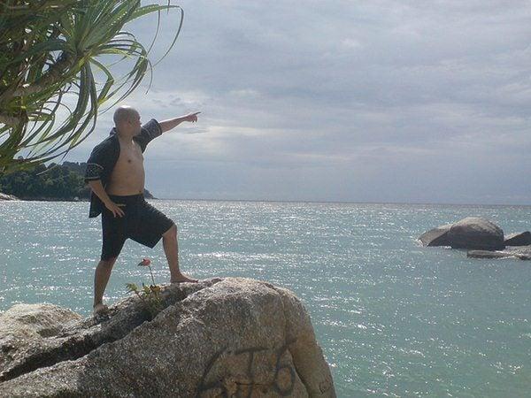 Gente da spiaggia - l'esploratore