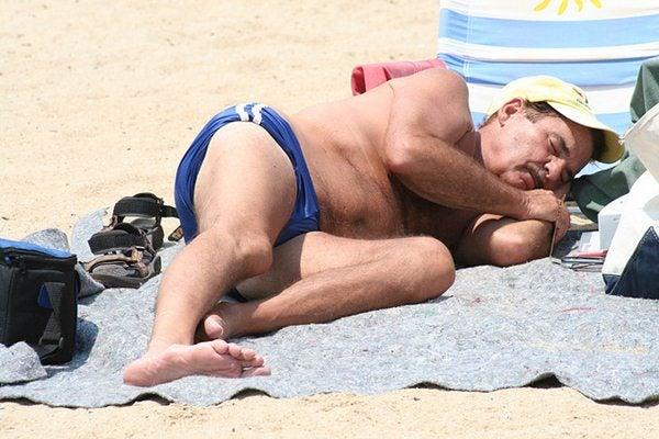 gente da spiaggia - il russatore
