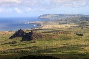 isola pasqua vegetazione
