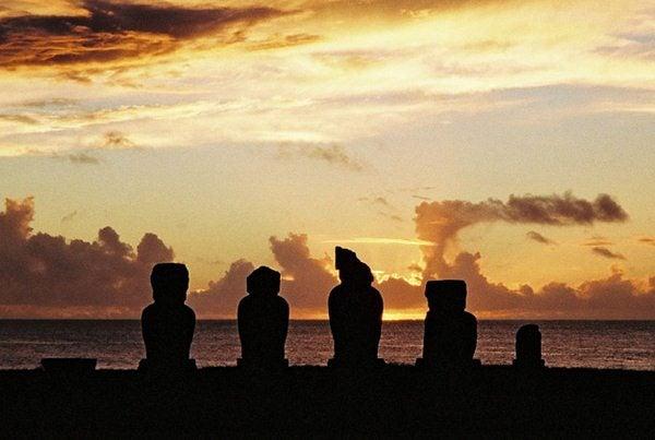 Moai su Rapa Nui
