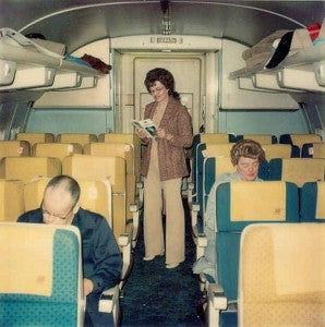 united airlines anni 70