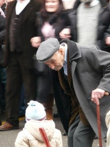 Anziano e bambino