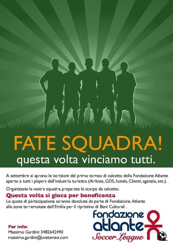 Soccer League Fondazione Atlante