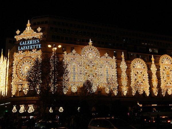Parigi Natale Capodanno 2012