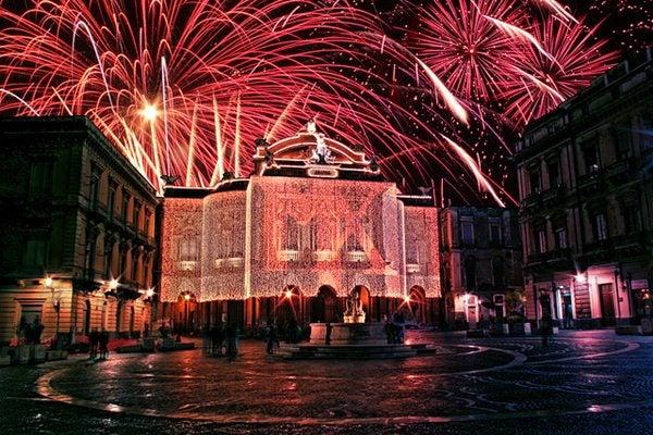 Natale Capodanno 2012 catania