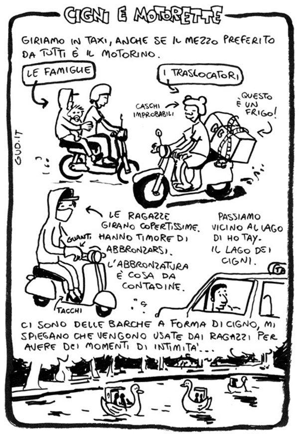 reportage viaggio fumetti Gud