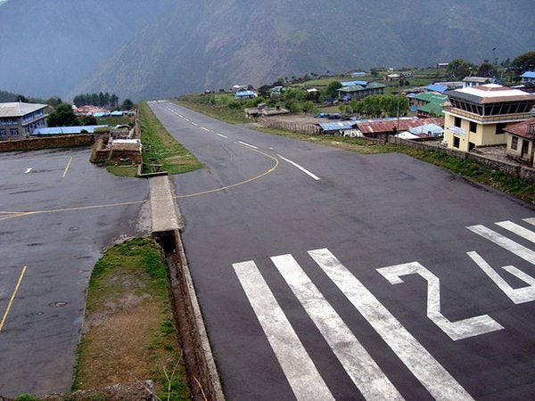 aeropuorto Lukla, Nepal