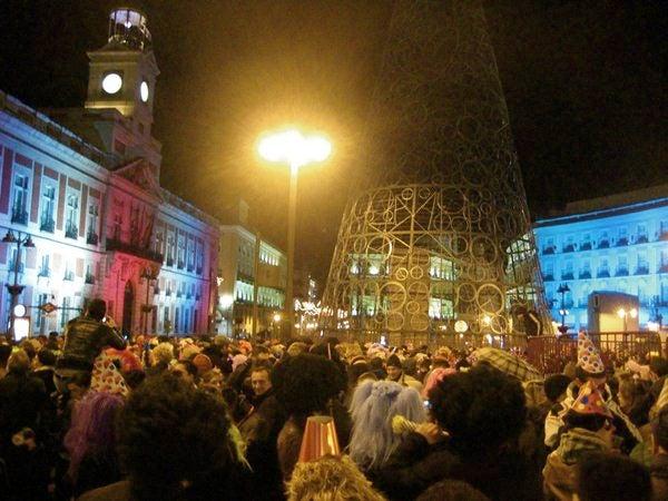 Madrid capodanno