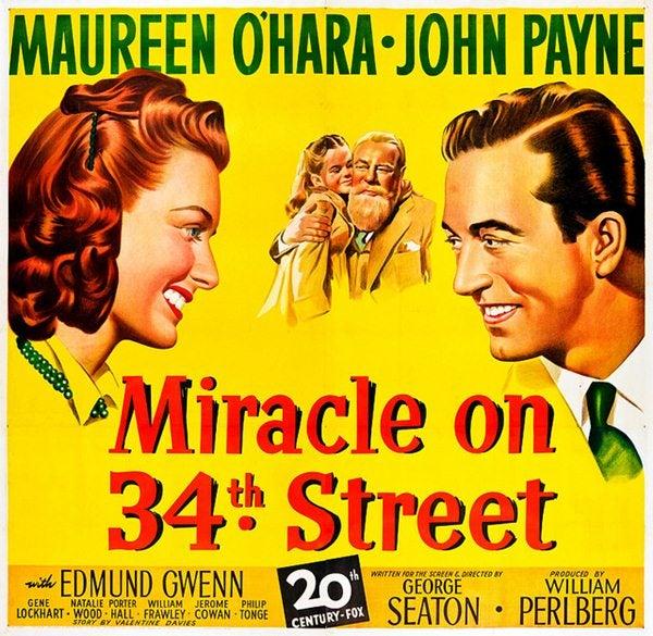Poster de la pelicula milagro en la ciudad - Películas de Navidad