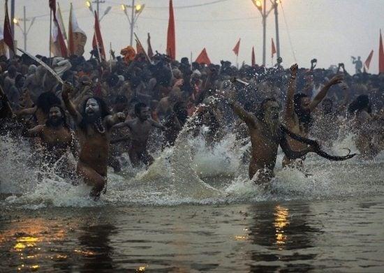 bagno sadhu Gange