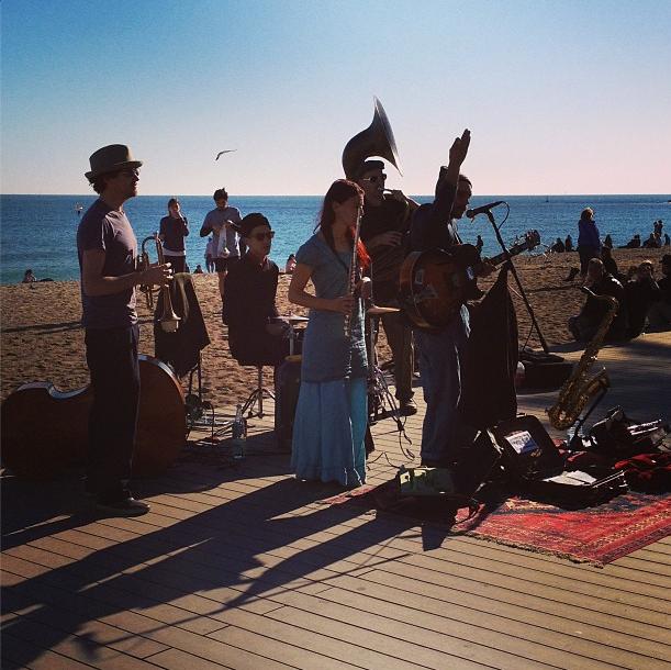 Barceloneta concert